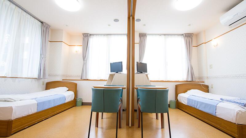 211・212号室の2人部屋イメージ